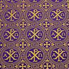 Альфа и омега фиолетовый/золото