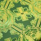 Ангелы зеленый/золото