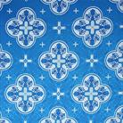 Кострома голубой/серебро