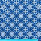 Мирликийский мелкий синий/серебристый