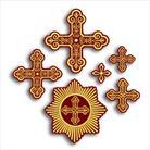 Крест вышивка вид 5