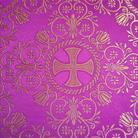 Алания фиолетовый/золото