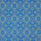 Елецкий голубой/желтый