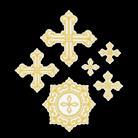 Крест вышивка вид 2