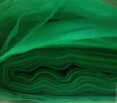 Фатин, цв.зеленая ель