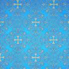 Алания голубой/золото