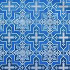 Кустодия голубой/белый