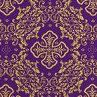 Алтайский фиолетовый/золото
